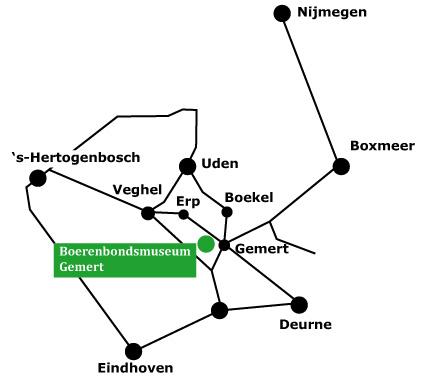 Locatie Boerenbondsmuseum